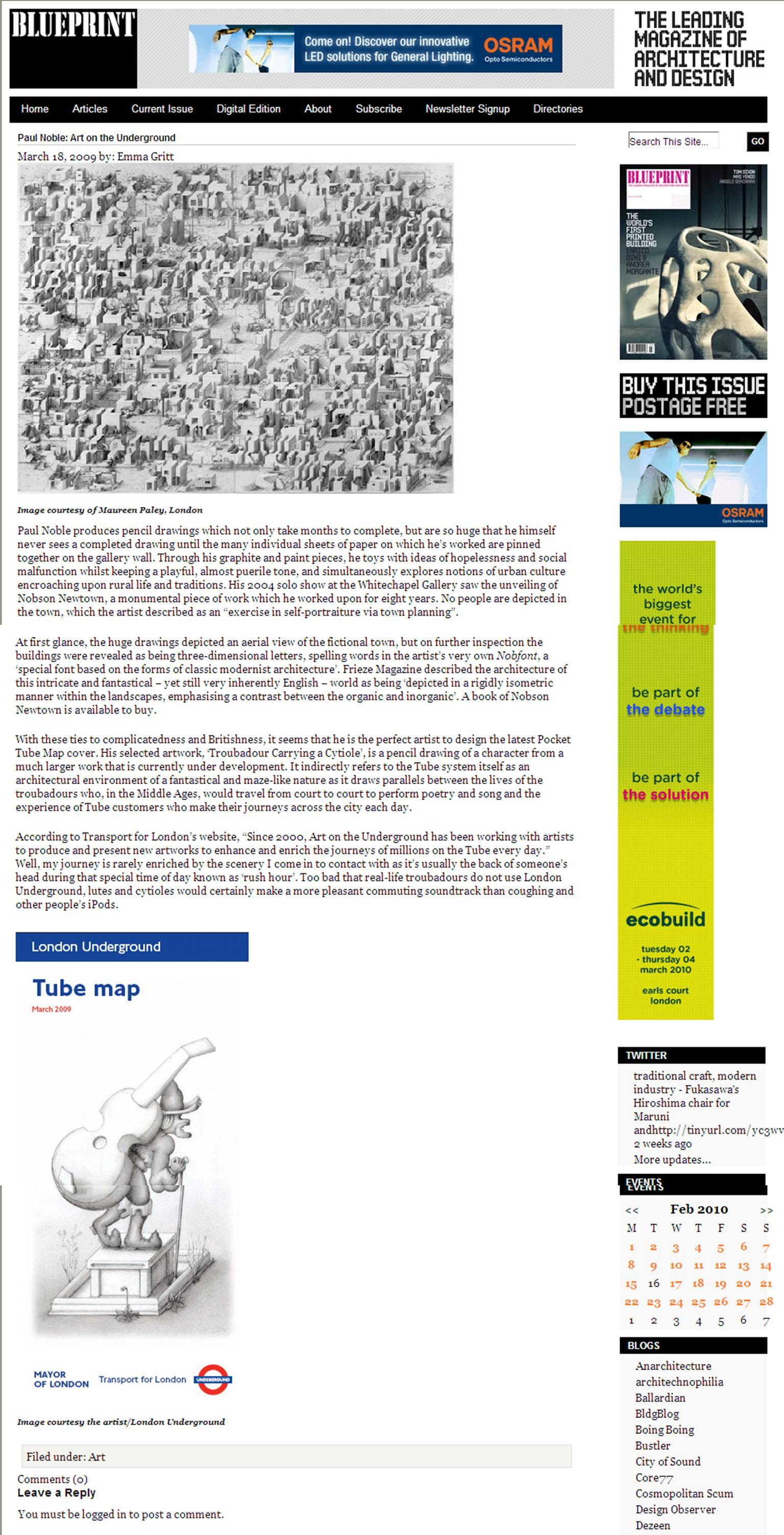 Blueprint magazine kara simsek tags architecture art blueprint magazine illustration malvernweather Gallery